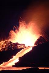Poster Volcano volcan 9