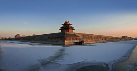 Fotobehang Beijing forbidden city 001
