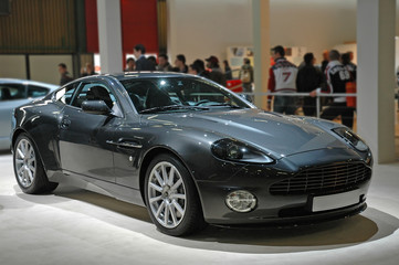 Deurstickers Snelle auto s gray sport car