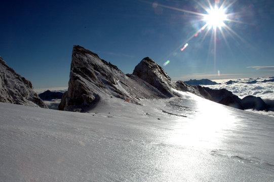 glace et soleil
