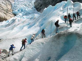 storm of a glacier