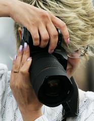woman the photographer