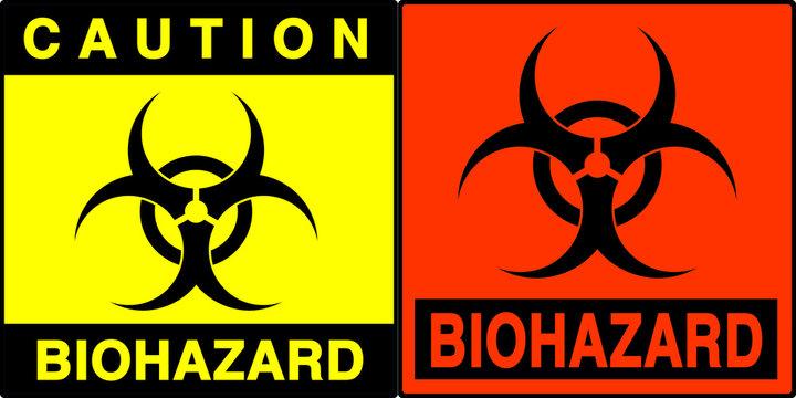 biohazard warning series
