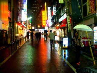 Photo sur Aluminium Tokyo tokyo blues