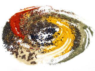 Spoed Foto op Canvas Kruiden spices