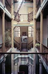 escaleras de hotel