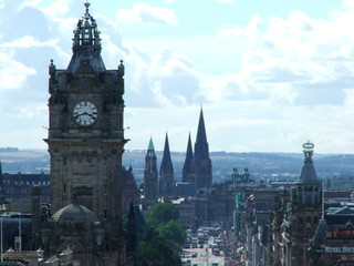 the spires of edinburgh