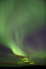 aurora and clouds
