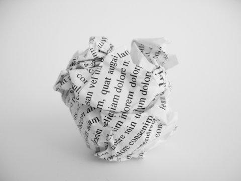 boulette de papier