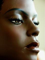 visage d'africaine