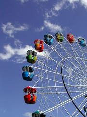 show rides - ferris wheel!