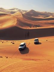 Photo sur Toile Desert de sable desert dunes in sweihan - emirates