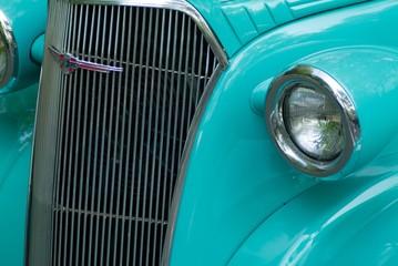 Printed roller blinds Vintage cars classic hot rod front end