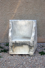 ancient throne