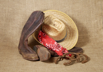 boots, hat and horseshoes 3