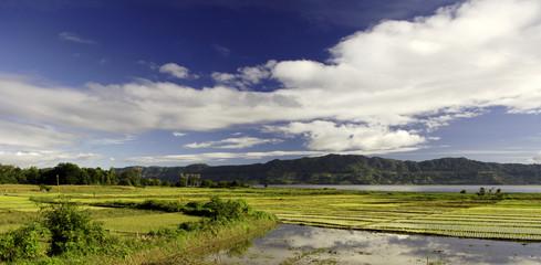 toba lake in sumatra