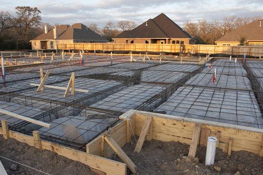 house foundation rebar