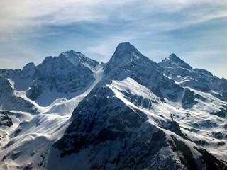 alpine mountain tops