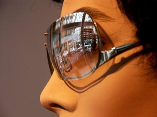 Wall Mural - lunettes et reflets