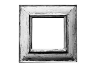 small rustic frame b/w