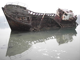 Garden Poster Shipwreck épave