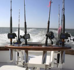 Printed kitchen splashbacks Fishing saltwater fishing reels
