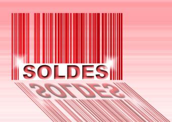 code barre : soldes