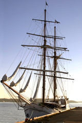 square mast ship