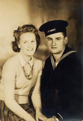 1940's vintage portrait