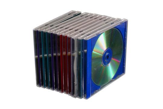 boitier cd détouré