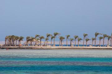 beach at egypt - hurgada