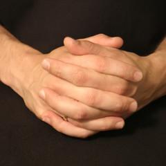 hands resting