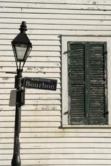 bourbon street lamppost