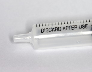 discard after use