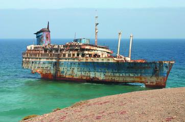 Acrylic Prints Shipwreck american star