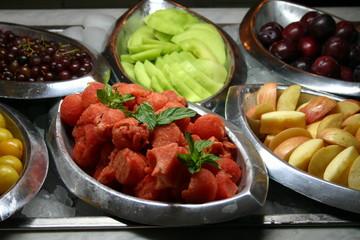 fruit buffet
