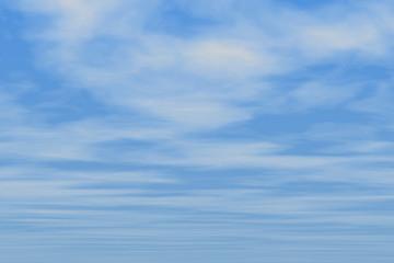 nice blue clouds