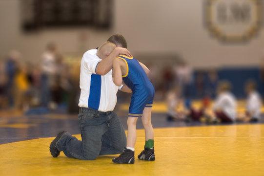 comforting coach