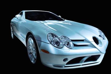 Deurstickers Snelle auto s futuristic luxury car
