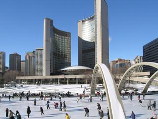 Tuinposter Toronto toronto city hall