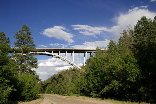 the los alamos canyon bridge