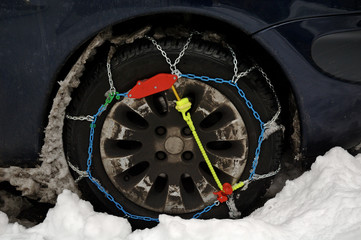 chaînes pour la neige