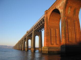 Canvas Prints Bridge tay rail bridge