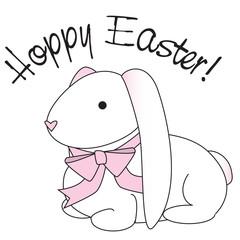 """""""hoppy easter"""" bunny"""