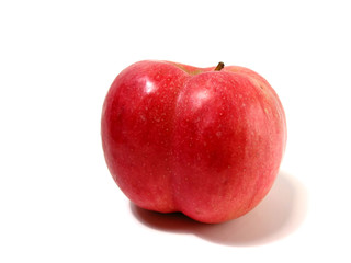 apple with butt cheeks