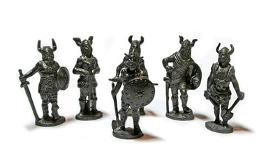 miniature warriors