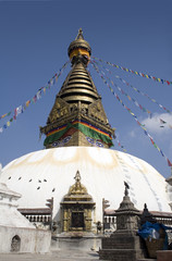 swayambhunath temple - nepal