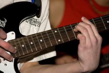 music 001 playing guitar