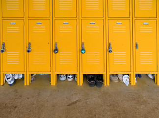school locker shoes