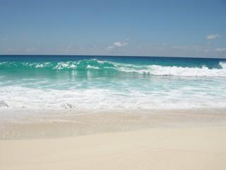 einsamer sandstrand